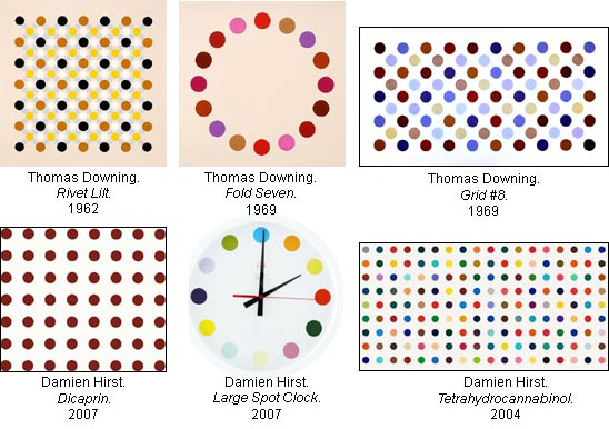 It is somewhat surprising and fascinating that Damien Hirst has decided to  pick up a paintbrush again after years of milking the cash cow that is  conceptual
